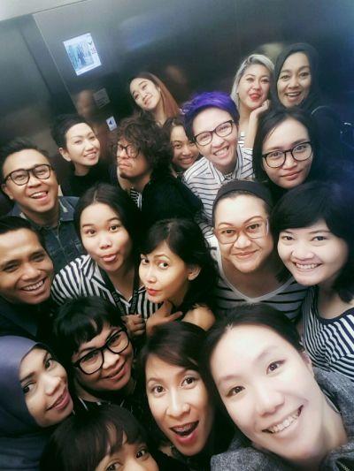 #elevatorselfie